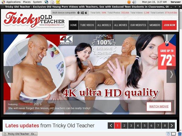 Tricky Old Teacher Logins Free