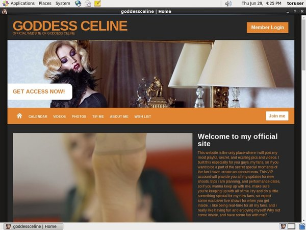 Goddess Celine Free Porn