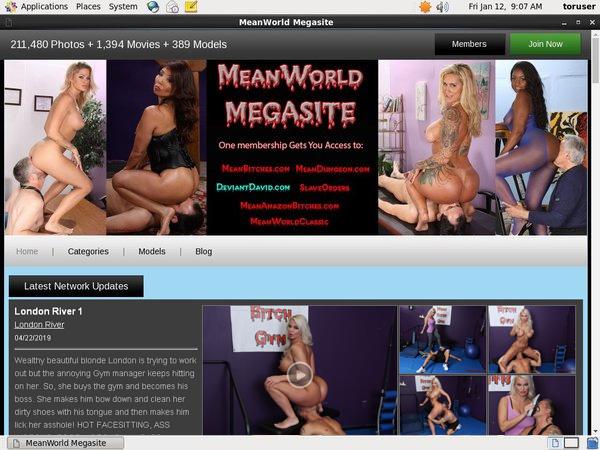 Mean World MegaSite Porn Site