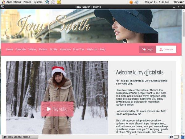 Password Free Jeny Smith