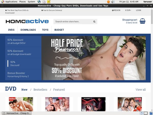 Paypal For Homoactive.com